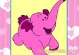 Elephant Fun Moments Coloring